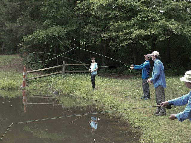Carolina fly fishing club home for Fly fishing clubs